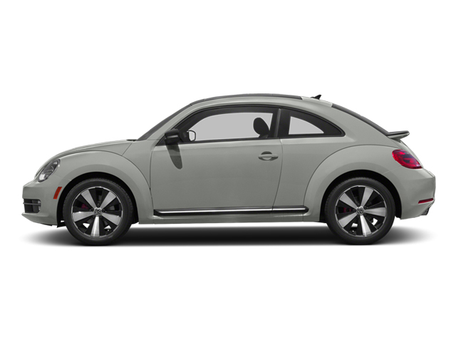 Reflex Silver Metallic 2013 Volkswagen Beetle Coupe Pictures Beetle Coupe 2D 2.0T R-Line I4 Turbo photos side view