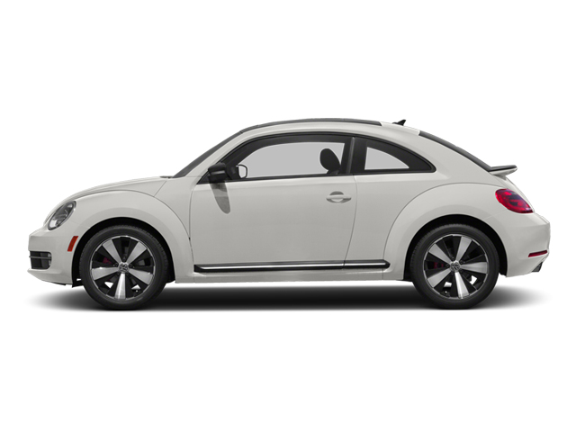 Candy White 2013 Volkswagen Beetle Coupe Pictures Beetle Coupe 2D 2.0T R-Line I4 Turbo photos side view