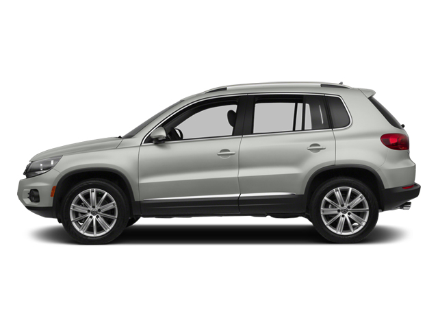 Reflex Silver Metallic 2013 Volkswagen Tiguan Pictures Tiguan Utility 4D SEL 2WD I4 Turbo photos side view