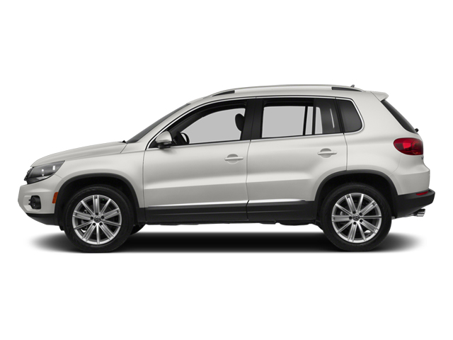 Candy White 2013 Volkswagen Tiguan Pictures Tiguan Utility 4D SEL 2WD I4 Turbo photos side view