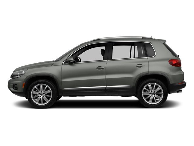 Pepper Gray Metallic 2013 Volkswagen Tiguan Pictures Tiguan Utility 4D SEL 2WD I4 Turbo photos side view
