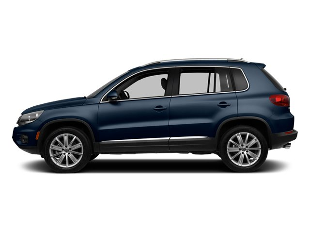 Night Blue Metallic 2013 Volkswagen Tiguan Pictures Tiguan Utility 4D SEL 2WD I4 Turbo photos side view