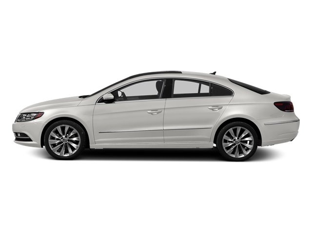 Candy White 2013 Volkswagen CC Pictures CC Sedan 4D R-Line I4 Turbo photos side view