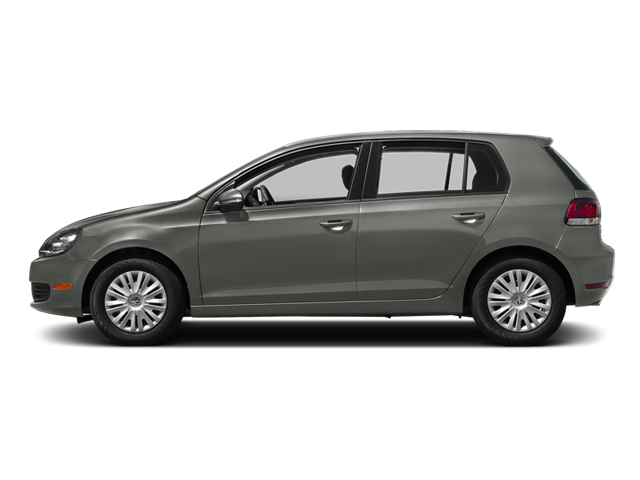 United Gray Metallic 2013 Volkswagen Golf Pictures Golf Hatchback 4D I5 photos side view