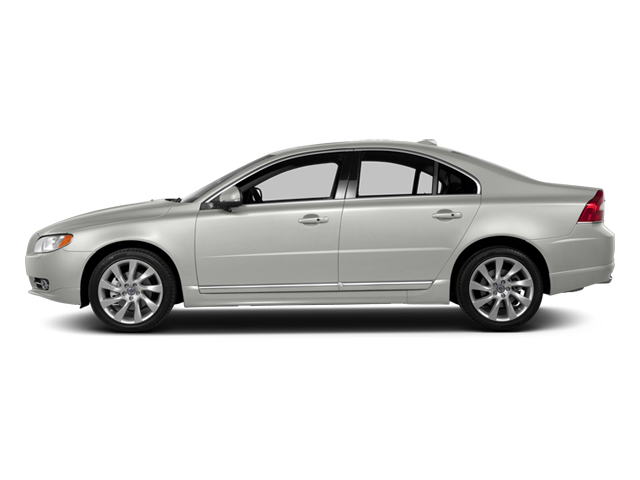 Ice White 2013 Volvo S80 Pictures S80 Sedan 4D I6 photos side view
