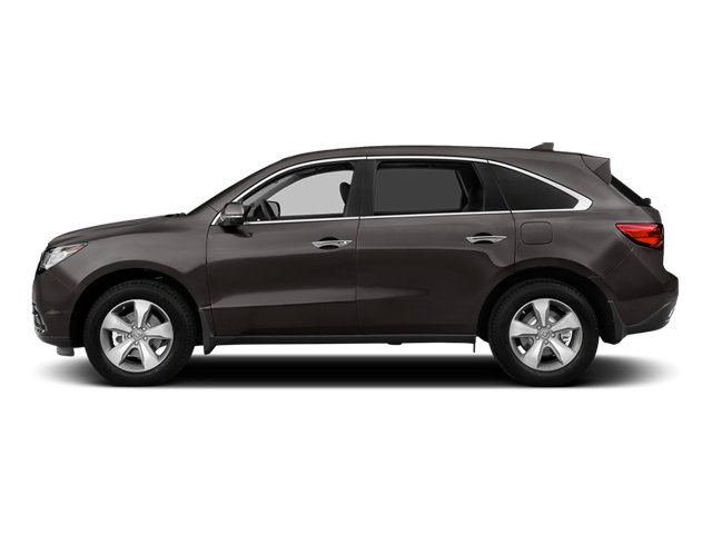 Graphite Luster Metallic 2014 Acura MDX Pictures MDX Utility 4D 2WD V6 photos side view