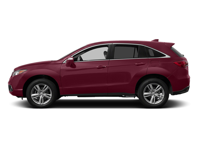Basque Red Pearl II 2014 Acura RDX Pictures RDX Utility 4D 2WD V6 photos side view