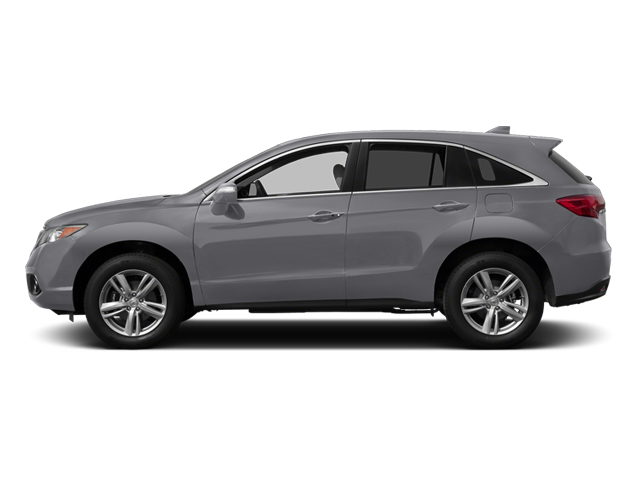 Forged Silver Metallic 2014 Acura RDX Pictures RDX Utility 4D AWD V6 photos side view
