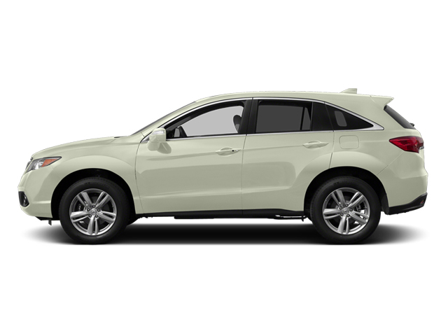 White Diamond Pearl 2014 Acura RDX Pictures RDX Utility 4D AWD V6 photos side view