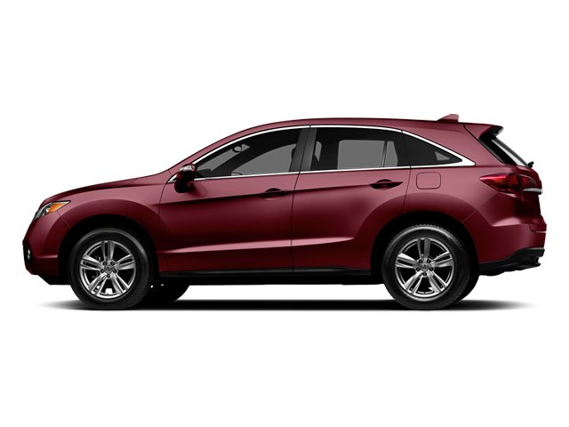 Basque Red Pearl II 2014 Acura RDX Pictures RDX Utility 4D Technology 2WD V6 photos side view