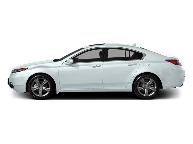 Bellanova White Pearl 2014 Acura TL Pictures TL Sedan 4D V6 photos side view