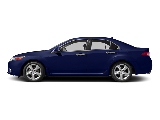 Vortex Blue Pearl 2014 Acura TSX Pictures TSX Sedan 4D I4 photos side view