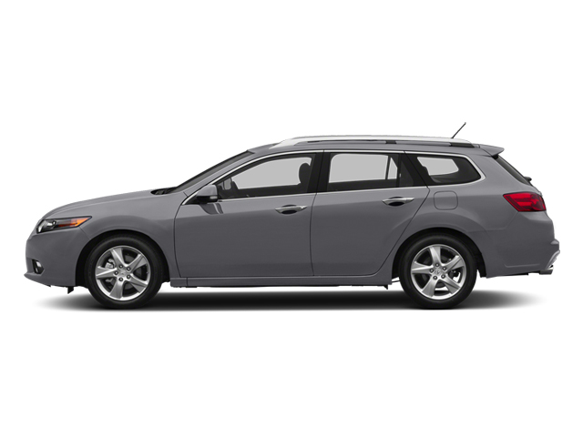 Forged Silver Metallic 2014 Acura TSX Sport Wagon Pictures TSX Sport Wagon 4D Technology I4 photos side view