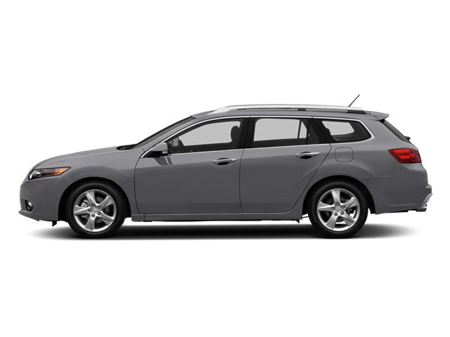 Forged Silver Metallic 2014 Acura TSX Sport Wagon Pictures TSX Sport Wagon 4D I4 photos side view