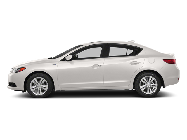 Bellanova White Pearl 2014 Acura ILX Pictures ILX Sedan 4D Hybrid Technology I4 photos side view