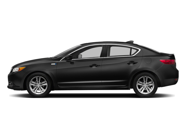 Crystal Black Pearl 2014 Acura ILX Pictures ILX Sedan 4D Hybrid I4 photos side view