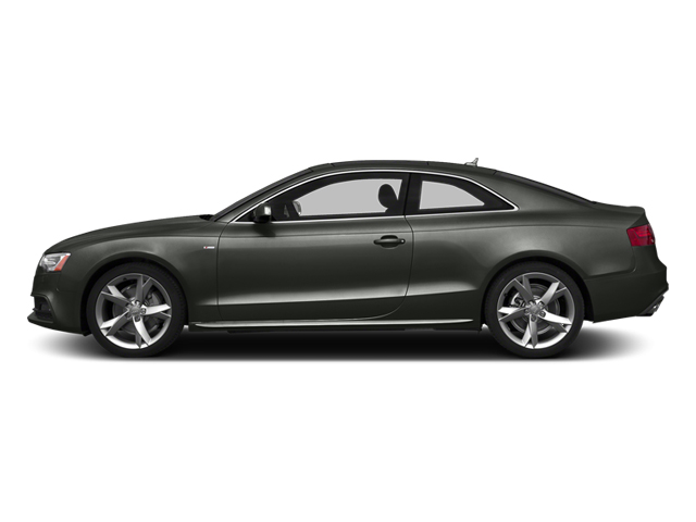 Daytona Gray 2014 Audi A5 Pictures A5 Coupe 2D Premium Plus AWD photos side view