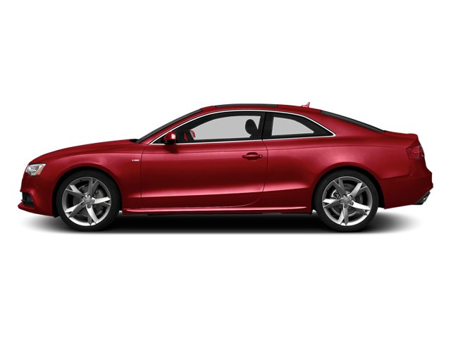 Brilliant Red 2014 Audi A5 Pictures A5 Coupe 2D Premium Plus AWD photos side view
