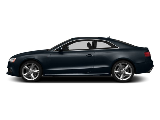 Moonlight Blue Metallic 2014 Audi A5 Pictures A5 Coupe 2D Premium Plus AWD photos side view