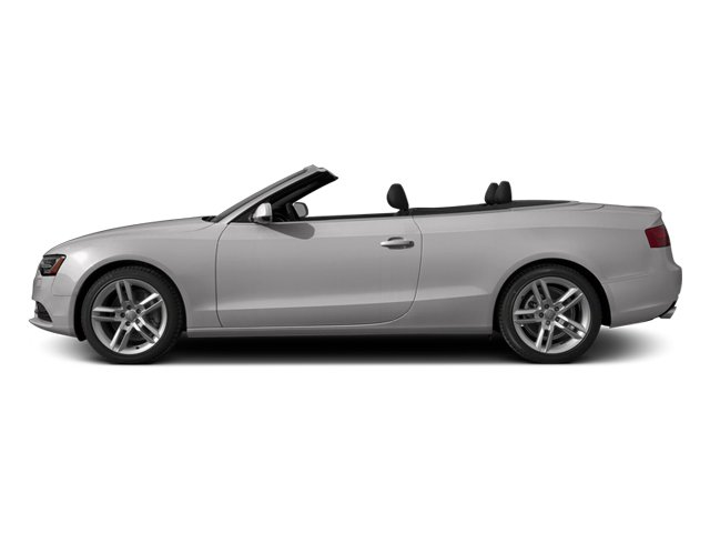 Cuvee Silver Metallic/Black Roof 2014 Audi A5 Pictures A5 Convertible 2D Premium 2WD photos side view