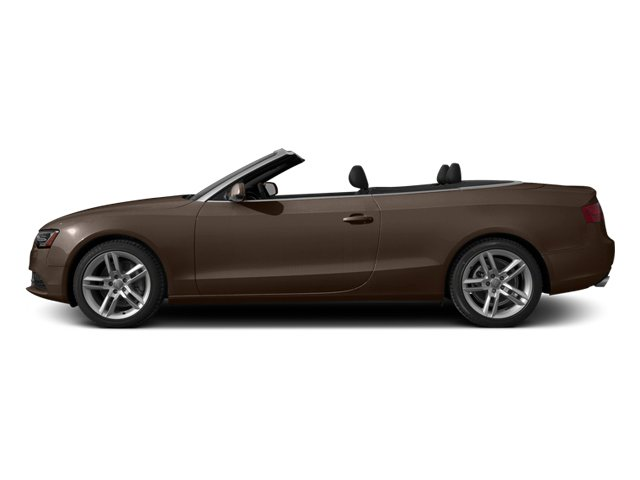 Teak Brown Metallic/Black Roof 2014 Audi A5 Pictures A5 Convertible 2D Premium 2WD photos side view