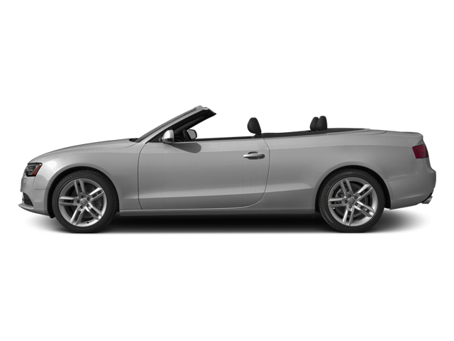 Ice Silver Metallic/Black Roof 2014 Audi A5 Pictures A5 Convertible 2D Premium 2WD photos side view