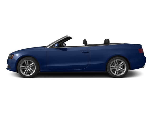 Scuba Blue Metallic/Black Roof 2014 Audi A5 Pictures A5 Convertible 2D Premium 2WD photos side view