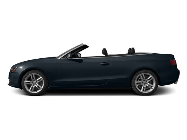 Moonlight Blue Metallic/Black Roof 2014 Audi A5 Pictures A5 Convertible 2D Premium AWD photos side view
