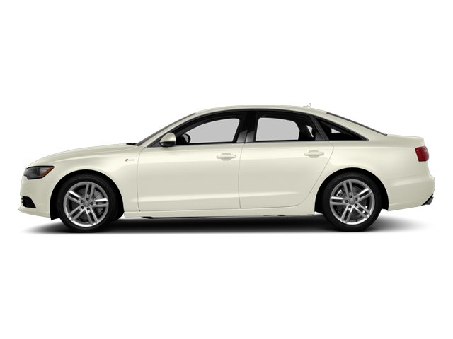 Glacier White Metallic 2014 Audi A6 Pictures A6 Sedan 4D 2.0T Premium Plus AWD photos side view