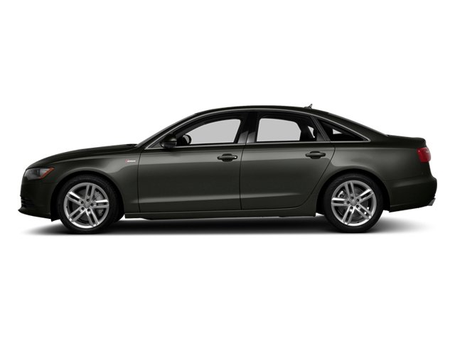 Havanna Black Metallic 2014 Audi A6 Pictures A6 Sedan 4D 2.0T Premium Plus AWD photos side view
