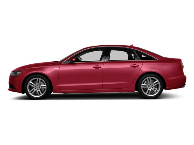 Garnet Red Pearl Effect 2014 Audi A6 Pictures A6 Sedan 4D 2.0T Premium Plus 2WD photos side view