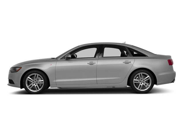 Ice Silver Metallic 2014 Audi A6 Pictures A6 Sedan 4D 2.0T Premium Plus 2WD photos side view