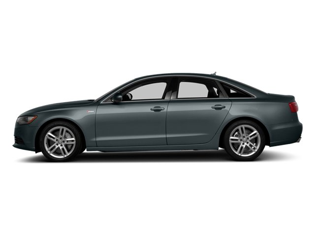 Aviator Blue Metallic 2014 Audi A6 Pictures A6 Sedan 4D 2.0T Premium Plus 2WD photos side view