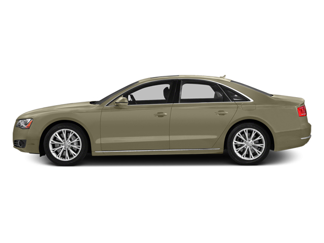 Savana Beige Pearl Effect 2014 Audi A8 Pictures A8 Sedan 4D 4.0T AWD V8 Turbo photos side view