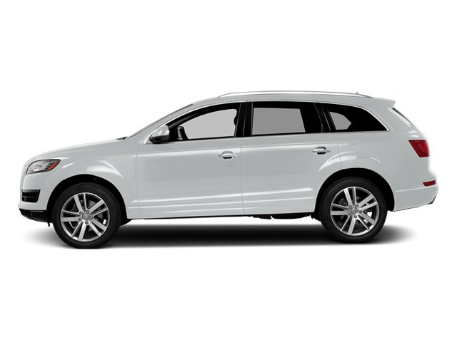 Carrara White 2014 Audi Q7 Pictures Q7 Utility 4D 3.0 Prestige S-Line AWD photos side view