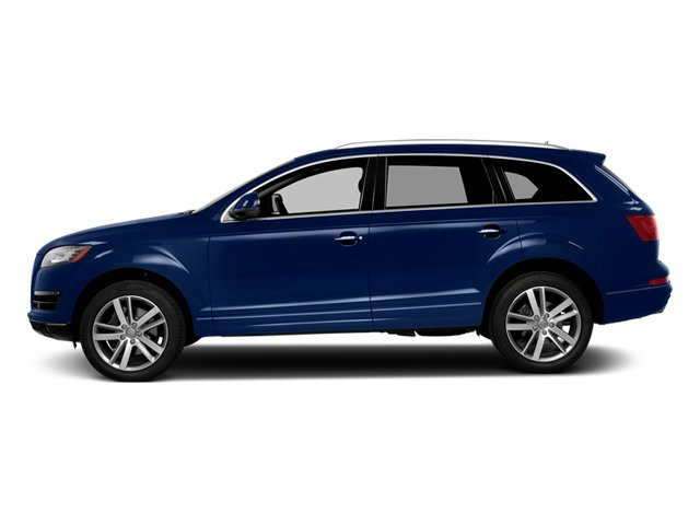 Scuba Blue Metallic 2014 Audi Q7 Pictures Q7 Utility 4D 3.0 Prestige S-Line AWD photos side view