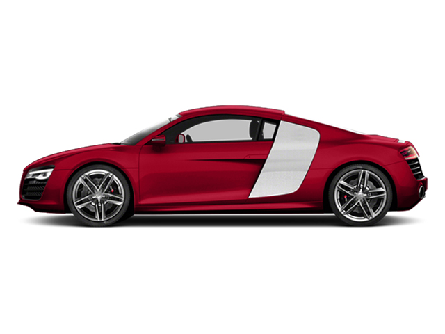 Brilliant Red 2014 Audi R8 Pictures R8 2 Door Coupe Quattro V8 (Manual) photos side view