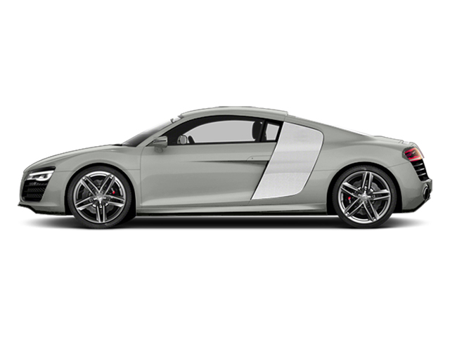 Suzuka Gray Metallic 2014 Audi R8 Pictures R8 2 Door Coupe Quattro V8 (Manual) photos side view