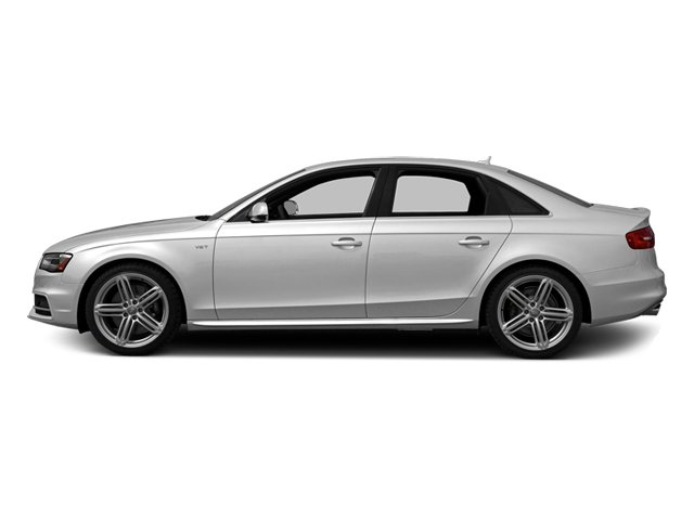 Ice Silver Metallic 2014 Audi S4 Pictures S4 Sedan 4D S4 Prestige AWD photos side view