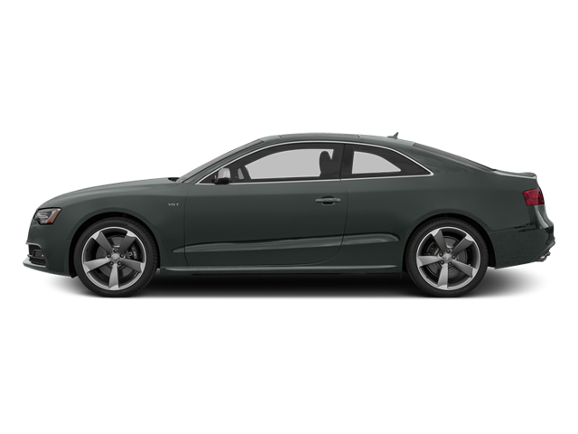 Monsoon Gray Metallic 2014 Audi S5 Pictures S5 Coupe 2D S5 Premium Plus AWD photos side view