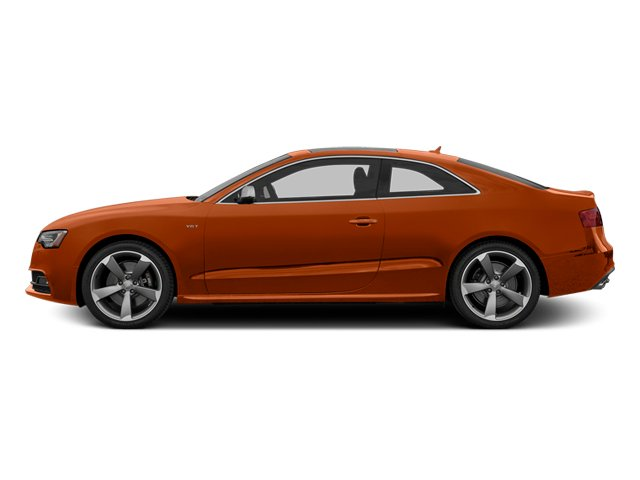 Volcano Red Metallic 2014 Audi S5 Pictures S5 Coupe 2D S5 Premium Plus AWD photos side view