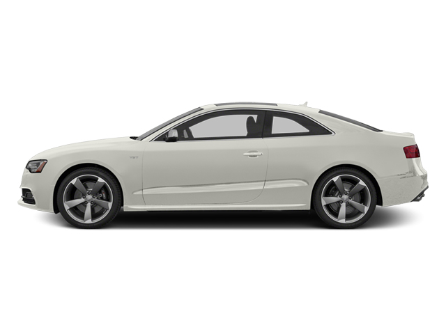 Ibis White 2014 Audi S5 Pictures S5 Coupe 2D S5 Premium Plus AWD photos side view
