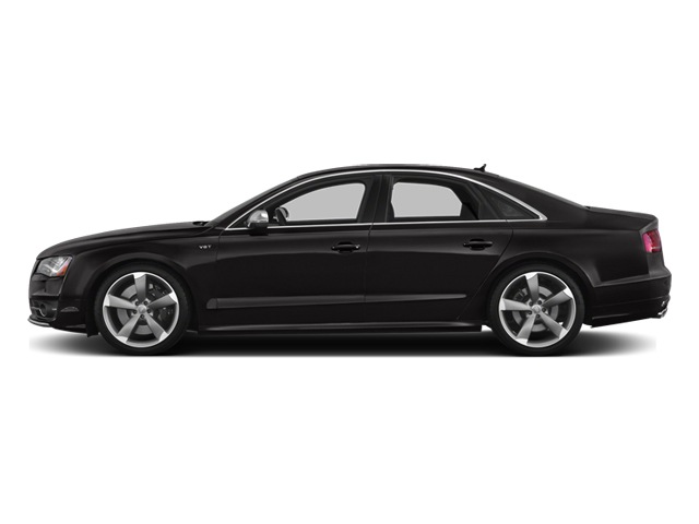 Oolong Gray Metallic 2014 Audi S8 Pictures S8 Sedan 4D S8 AWD V8 Turbo photos side view