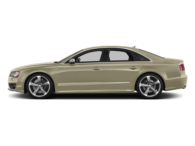 Savana Beige Pearl Effect 2014 Audi S8 Pictures S8 Sedan 4D S8 AWD V8 Turbo photos side view