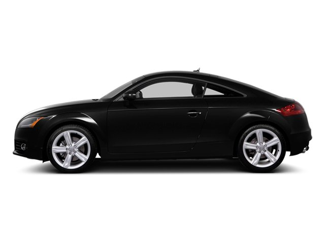 Phantom Black Pearl Effect 2014 Audi TT Pictures TT Coupe 2D AWD photos side view