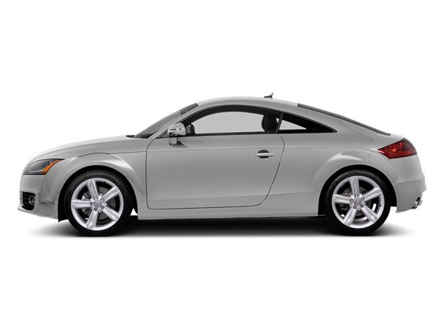 Ice Silver Metallic 2014 Audi TT Pictures TT Coupe 2D AWD photos side view