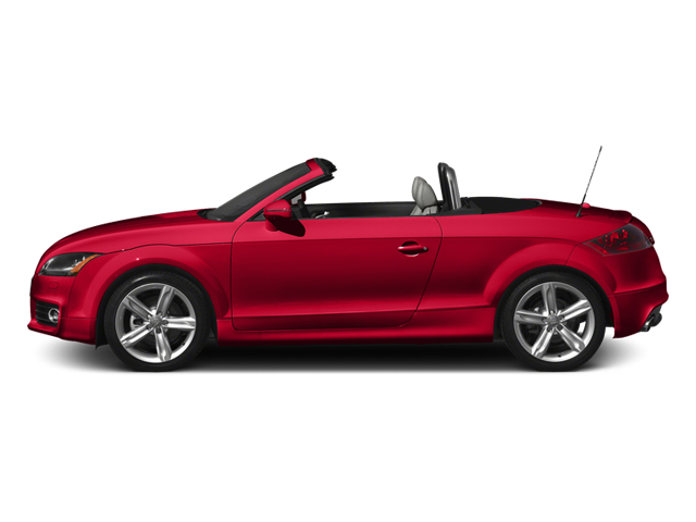 Misano Red Pearl Effect/Black Roof 2014 Audi TT Pictures TT Roadster 2D AWD photos side view