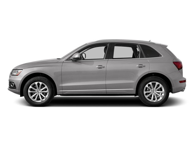 Cuvee Silver Metallic 2014 Audi Q5 Pictures Q5 Util 4D TDI Premium Plus S-Line AWD photos side view
