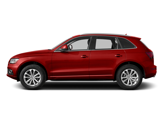 Volcano Red Metallic 2014 Audi Q5 Pictures Q5 Utility 4D TDI Prestige S-Line AWD photos side view