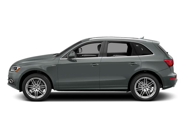 Monsoon Gray Metallic 2014 Audi Q5 Pictures Q5 Utility 4D 2.0T Prestige AWD Hybrid photos side view